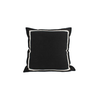 chapter1(챕터원),Linen Cushion - Black Chunky