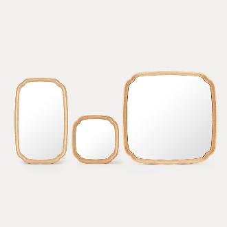 chapter1(챕터원),Soban Mirror - Beech (3 Sizes)